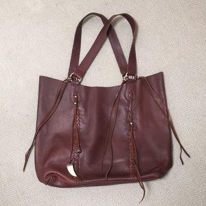 Raj Messenger Bag in Brown Leather